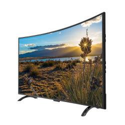 55 Zoll LED intelligentes Fernsehapparat-Farben-Bildschirm-Plasma-androider Großverkauf