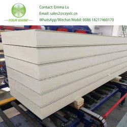 950мм с возможностью расширения полиуретан PU Сэндвич панели стены/3D-PU блок (завод)
