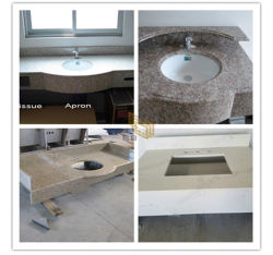 De Natuurlijke Plakken van uitstekende kwaliteit van het Graniet van de Steen Witte/Zwarte/Grijze/Grijze voor Countertop/Hotel/Muur/Bevloering
