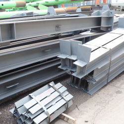 Zusammengebauter MetallstahlStruction Träger und Spalte für Aufbau