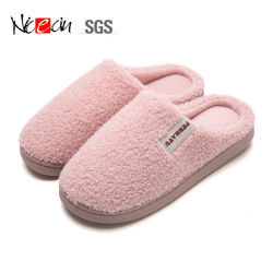 新しいモデルの冬の女性の屋内のための北極の羊毛の偶然靴