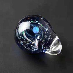 Univers de pierre de verre opale unique planètes Collier Pendentif Galaxy du système solaire de la chaîne de corde Necklace cadeau pour les femmes