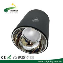 Schwarze Aluminiumeingehangenes Downlight Cer des gehäuse-LED Oberfläche genehmigt