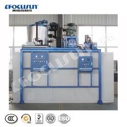 5tonne flocon Air de refroidissement, machine à glace Wtih 5ton casier de rangement en acier inoxydable