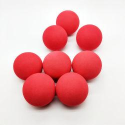 Della fabbrica sfera della gomma piuma di EVA colorata superficie regolare di alta qualità direttamente con la sfera dell'antenna della gomma piuma di EVA del foro