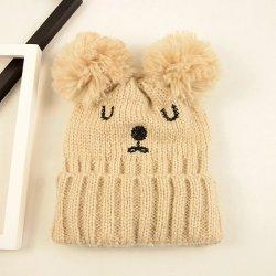 Il modo di lavoro a maglia dei cappelli del Beanie di inverno su ordinazione ricopre i cappelli su ordinazione dell'acrilico di marchio ricamati regalo promozionale