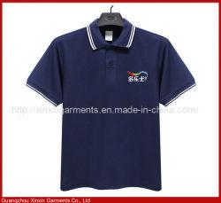 カスタム高品質の人の綿の不足分の袖の印刷のスポーツのTシャツのユニフォーム(P193)