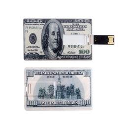 주문을 받아서 만들어진 신용 카드 USB 섬광 드라이브 4GB 8GB 16GB 32GB 64GB 펜 드라이브 기억 장치 USB 지팡이 USB 2.0 Pendrive 선물