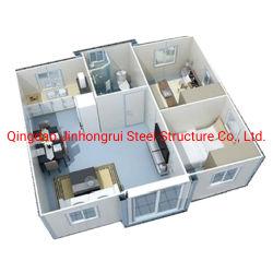 China Fornecedor Baixa Barato preço de custo 40FT 20FT designs vivos Prefab Contêiner House Office a construção de casas para venda