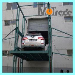 Pfosten-Selbstauto-Aufzug TUV-anerkannte Vertikale der Hydraulikanlage-4, die Förderanlagen hin- und herbewegt