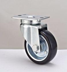 """4"""" токопроводящих резиновые поворота от производителя самоустанавливающегося колеса"""