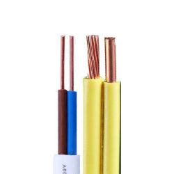 BV BVV RV isolés de PVC en cuivre simple coeur de fil électrique