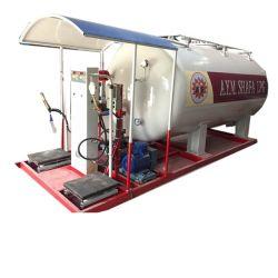 2.5톤 LPG 스키드 스테이션 5m3 가스 충전 스테이션