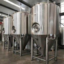 Bier-Gärungserreger-Brauerei-Brauengerät des Tonsen Edelstahl-100L 200L 300L 500L 600L 800L 1000L 1200L 1500L 2000L 2500L 3000L 4000L Micorbrewery