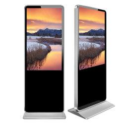 Totem de grande taille de la publicité de 65 pouces écran tactile Digital Signage kiosque de l'écran LCD