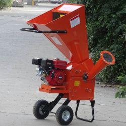 Portable 7HP gasolina alimentado 60mm capacidade suores do picador de madeira
