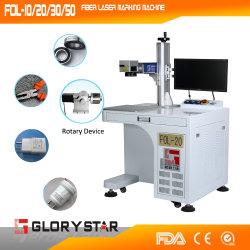 Faser-Laser-Markierungs-Maschinen-Druck auf Metallhilfsmitteln
