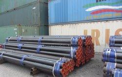 コンベヤーのアイドラー管(SANS 657/3)ニスか黒い仕上げと、中国のコンベヤーの管