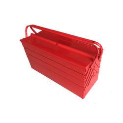 철 케이스 방수 휴대용 접이식 금속 공구 보관 상자 공구 포장