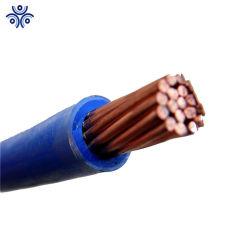 Núcleo único 600V 6 AWG 8 AWG 10AWG Thhn Thwn Thw Cooper Conductor Bainha de Nylon PVC CABO ELÉCTRICO