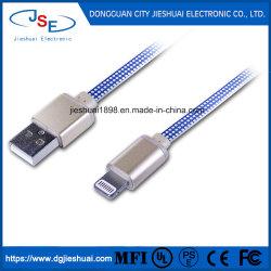 Carregador Plana das IFM à tracção do cabo de dados USB para iPhone da Apple Se/5/6s/7 Plus-1M 2m