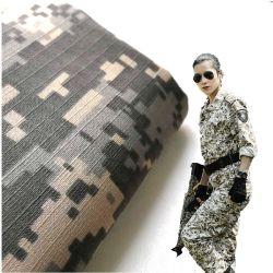 Venda por 65% de poliéster 35% de mistura de algodão Exército Tecidos Imprimir Camouflage uniforme militar Fabric