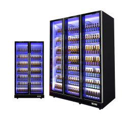 Напиток дисплей холодильник / Вертикальные подключения охладителя кабинета министров энергетики холодильник