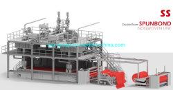Gesponnenes Gewebe SS-2400mm pp. Spunbonded nicht, das Maschine und Meltblown Maschine für Bady und erwachsene Windel herstellt