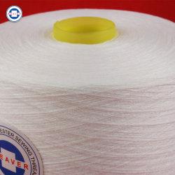 Commerce de gros filés de polyester à 100 % du fil à coudre 52/3 de semi-mat