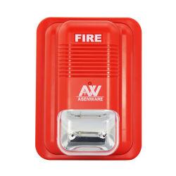 Промышленный Addressable свет строба системы пожарной сигнализации