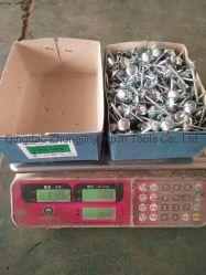 """Fabrica de fábrica Barata 3.125kg/caja x 8 cajas/CTN 10 bwgx2 1/2"""" 12bwgx2"""" de las uñas con techos de galvanizado paraguas mango suave cabeza para el mercado de África"""