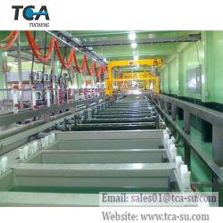 A linha de produção de galvanização de oxidação anódica plaqueamento automática para alumínio /SIO