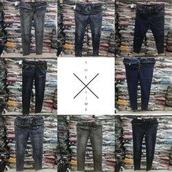 Jeans Pants Stock Lotの女性の衣服
