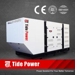 El poder de la marea 5kVA - 3900kVA Super Silencioso generador diésel eléctrico de bajo precio con Cummins motores Perkins de Balduino de la MTU de Mitsubishi Motor Deutz Iveco Doosan