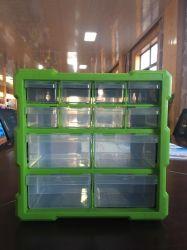 12 Gavetas Gaveta de plástico do compartimento de ferramentas/Caixa de Ferramentas/armário de ferramentas