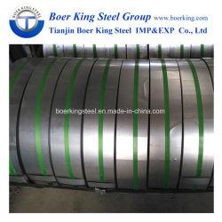 Les bandes en acier galvanisé Gi dans la bobine / noir / bleu Bainted cerclage métallique en acier/acier Bande d'emballage