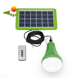 글로벌 해돋이 5W 태양 가벼운 장비 3W 태양 램프 태양 LED 갱신할 수 있는 빛