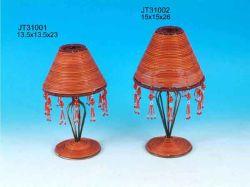 Лампа ротанга крышку (JT31001 и JT31002)