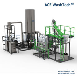 Resíduos de película de PP PE saco tecido linha de lavagem/ utilizado plástico de sucata de PP PE Reciclagem e máquina de lavar roupa