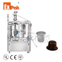 Alimentación seca máquina de envasado y llenado de polvo de café máquinas de sellado
