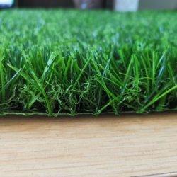 Home grama artificial Turf orifícios de drenagem de relva sintética realista Piscina Piscina grama para cão de estimação Pátio com jardim e varanda
