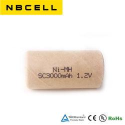 NiMH Sc размер 3000Мач 1,2V Аккумулятор Ni-MH аккумулятора