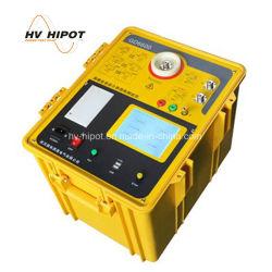 Automatic capacitancia y la pérdida dieléctrica Tester Test Set de Delta de color marrón de aceite del transformador