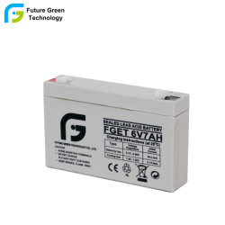 6V7ah Bateria de armazenamento de ácido de chumbo selado para escala de pesagem