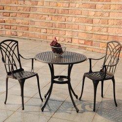 Meubles de jardin jeux de tables à manger en plein air et de coussin Charis