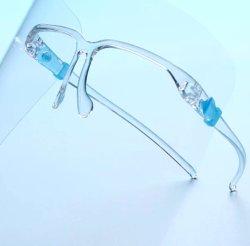光景の接眼レンズのゆとりペットフレームが付いている保護ハンドシールドのバイザーの保護装置ガラスを調理する流行の反霧のしぶき