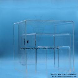 PMMA acrylique claire / Cartes de montage d'affichage ou l'étagère pour Sac Chaussure / / / Artisanat Bijoux / Cosmétique / Watch / / Lunettes Les lunettes de soleil / Necklace / Earring / bague / Wallet