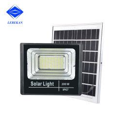 Der Leistungs-25W 100W 200W im Freiendes reflektor-Solar-LED Licht Flut-Licht-im Freien Solarder flut-IP65