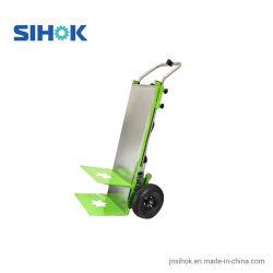 China precios baratos de gran capacidad 250 kg pesado carro de mano en mano de la batería de almacenamiento de carga eléctrica Trolley