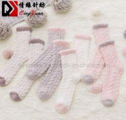 Toalla de alta calidad borrosa caliente piso gruesos calcetines calcetines de invierno Calcetines térmicos